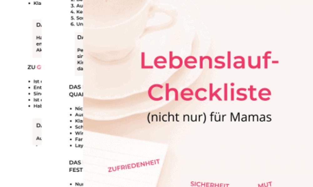 Lebenslauf_Checkliste_Grafik